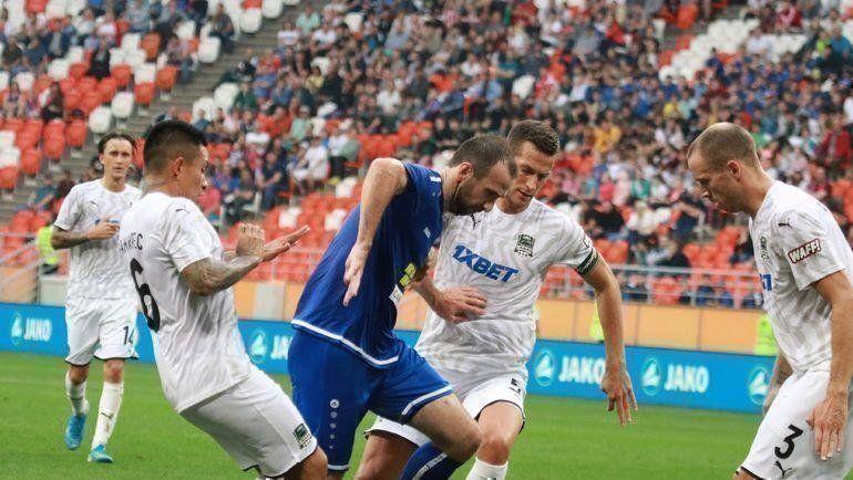 Футбол, РПЛ, 18 тур, Краснодар - Тамбов, Прямая текстовая онлайн трансляция