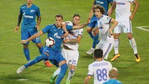 Футбол, РПЛ, 19 тур, Зенит - Динамо, Прямая текстовая онлайн трансляция