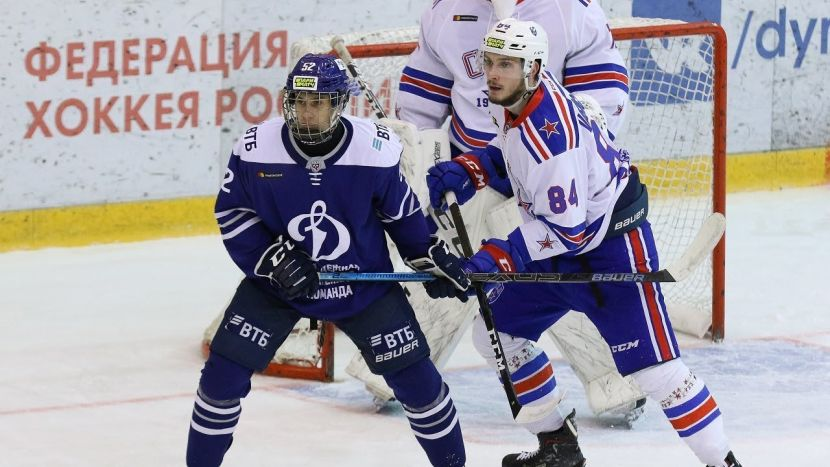 Хоккей, КХЛ, Динамо М - СКА, Прямая текстовая онлайн трансляция