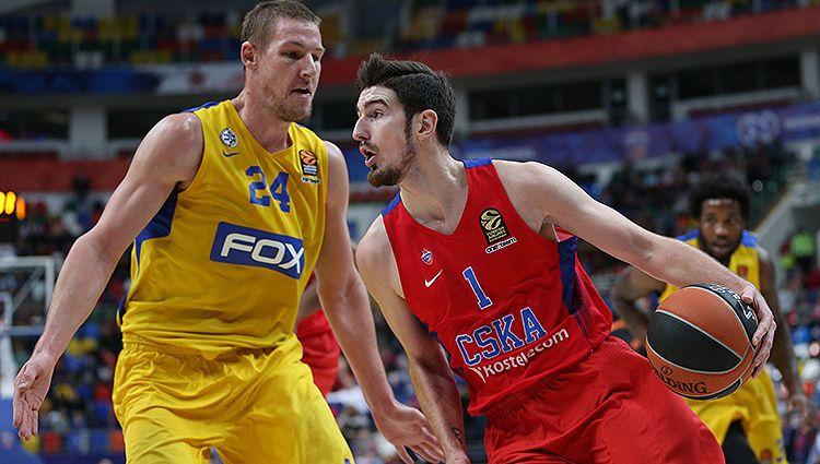 Баскетбол, Евролига, 13 тур, Маккаби ТА - ЦСКА, Прямая текстовая онлайн трансляция