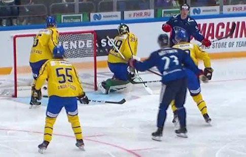 Финляндия переиграла Швецию во втором туре Кубка Первого канала