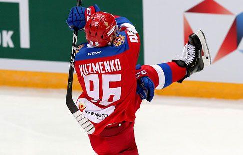 Россия - Чехия - 1:0: Кузьменко открывает счёт в матче. ВИДЕО