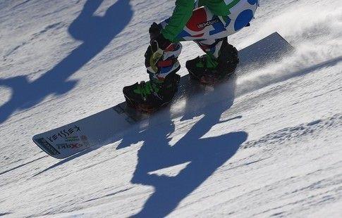 Сноубордист Слуев завоевал бронзу в параллельном гигантском слаломе на этапе КМ