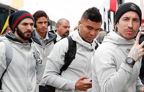 """Игроки """"Реала"""" прилетели в Барселону в преддверии """"Эль-Класико"""""""