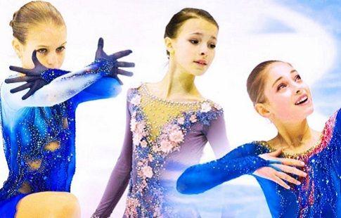 Убойный танец от Трусовой, Щербаковой и Косторной перед чемпионатом России. ВИДЕО
