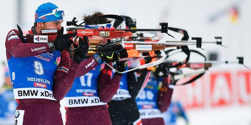 Определился состав мужской сборной России по биатлону на январские этапы Кубка мира