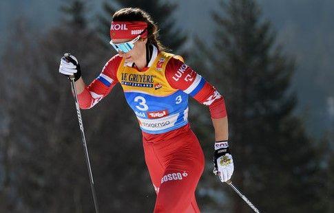 Непряева вышла в финал спринта в Ленцерхайде на Тур де Ски