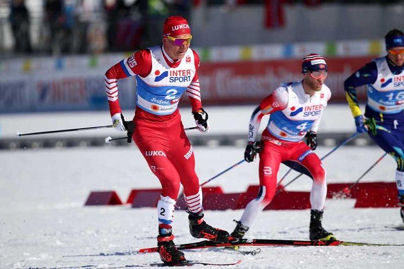"""Шведский лыжник после этапа """"Тур де Ски"""" обвинил Большунова в поломанной палке"""