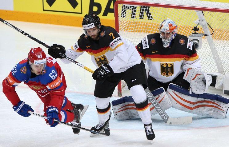 Хоккей, МЧМ-2020, Россия - Германия, Прямая текстовая онлайн трансляция