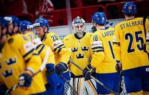Швед Умарк дал интервью в форме сборной России. ВИДЕО