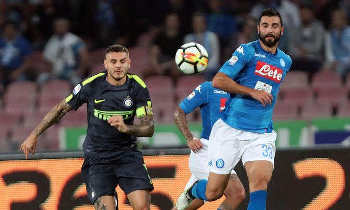 Футбол, Серия А, 18 тур, Наполи - Интер, Прямая текстовая онлайн трансляция