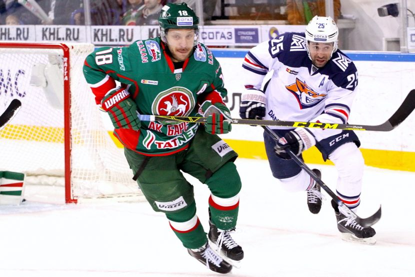Хоккей, КХЛ, Ак Барс - Металлург, Прямая текстовая онлайн трансляция