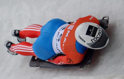 Тарарыченкова завоевала золото на этапе Кубка Европы по скелетону