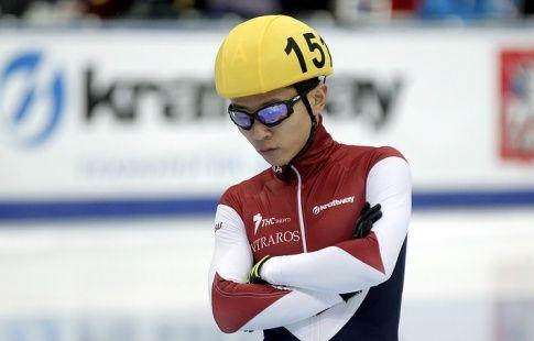 Виктор Ан пропустит чемпионат Европы из-за травмы колена