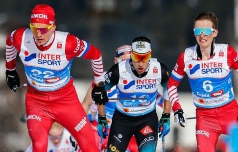 Лыжные гонки. Мужчины. Общий зачёт Кубка мира и итоги этапа в Дрездене