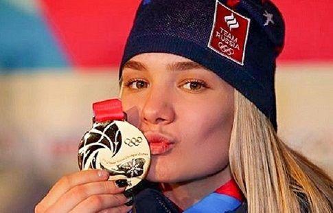 Биатлонистка Мохова - двукратная чемпионка юношеских Олимпийских игр!