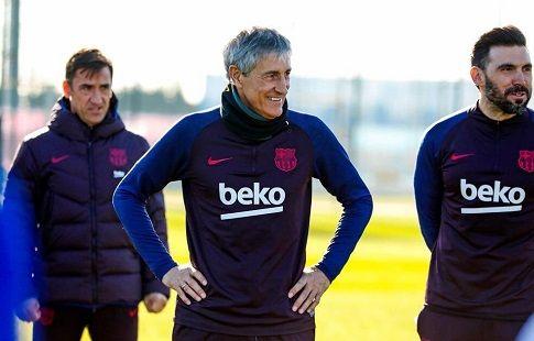 """Сетьен: """"Цель - выиграть всё! У """"Барселоны"""" нет другого пути"""". ВИДЕО"""