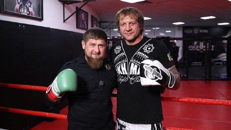 Кадыров отреагировал на поражение Емельяненко