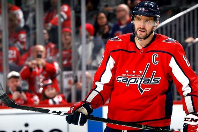 Овечкин забросил первую шайбу после перерыва в НХЛ
