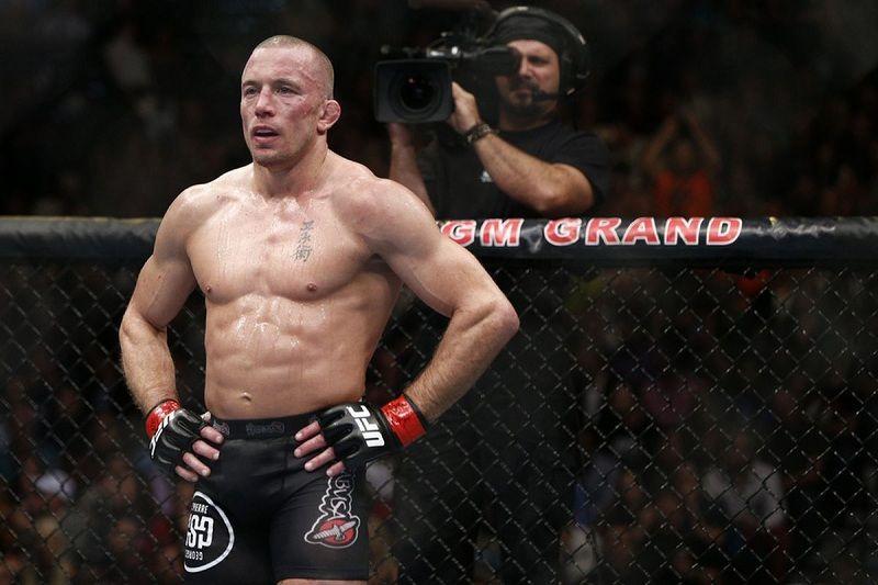 """Сен-Пьер - о возможном бое с Нурмагомедовым: """"Если у UFC есть ко мне предложение, они знают где меня найти"""""""