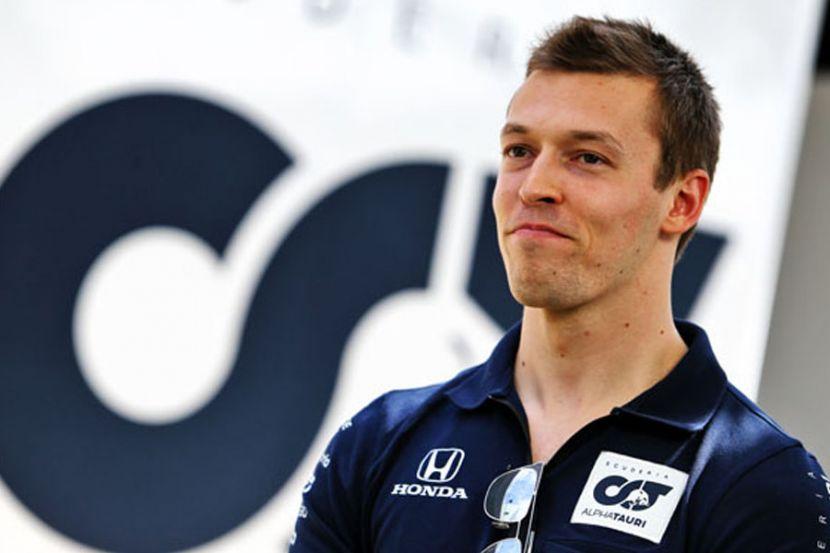 Квят поменял дизайн шлема. Он проведёт 100-ю гонку в Формуле-1. ФОТО