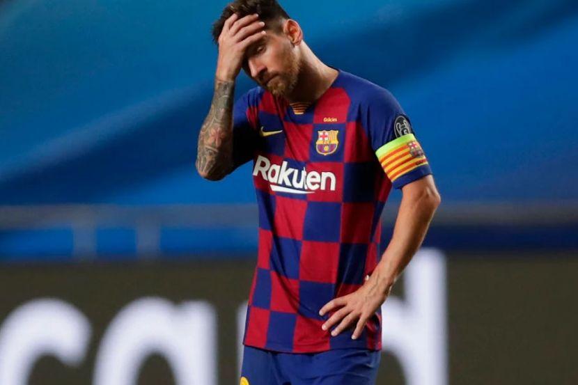"""Источник: Месси в шаге от ухода из """"Барселоны"""""""