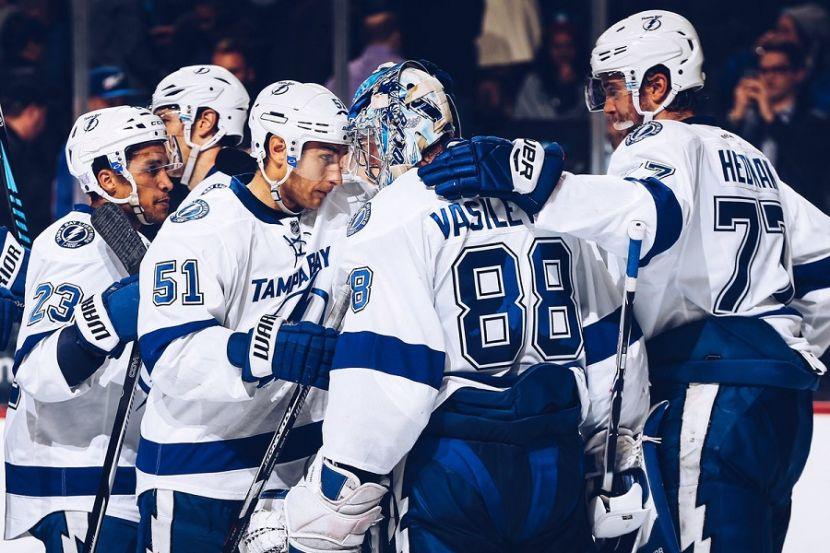 Хоккей, НХЛ, 1/4 финала, Восток, Коламбус - Тампа-Бэй, Прямая текстовая онлайн трансляция