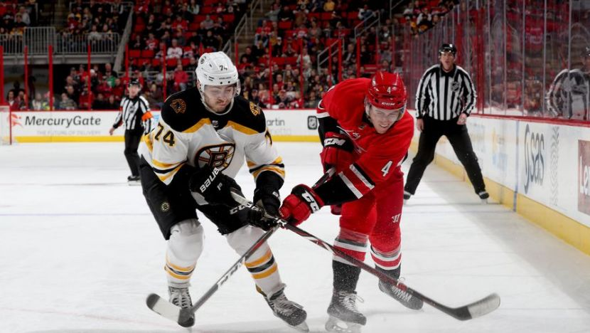 Хоккей, НХЛ, 1/4 финала, Восток, Бостон - Каролина, Прямая текстовая онлайн трансляция
