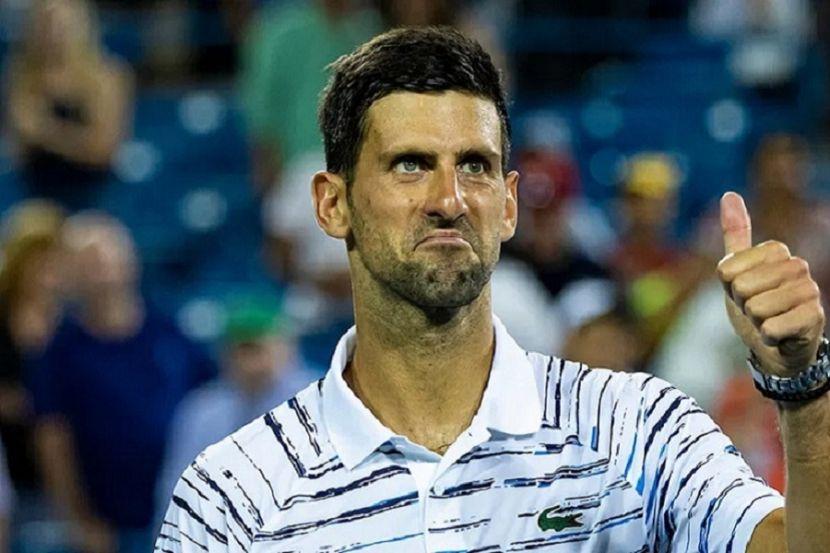 Джокович отказался от участия в парном турнире в Нью-Йорке из-за проблем с шеей