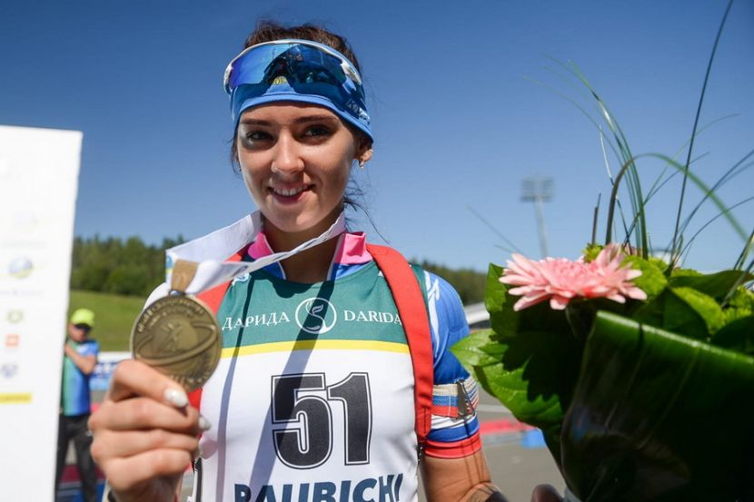 Гореева показала лучший результат в контрольной гонке женской сборной России