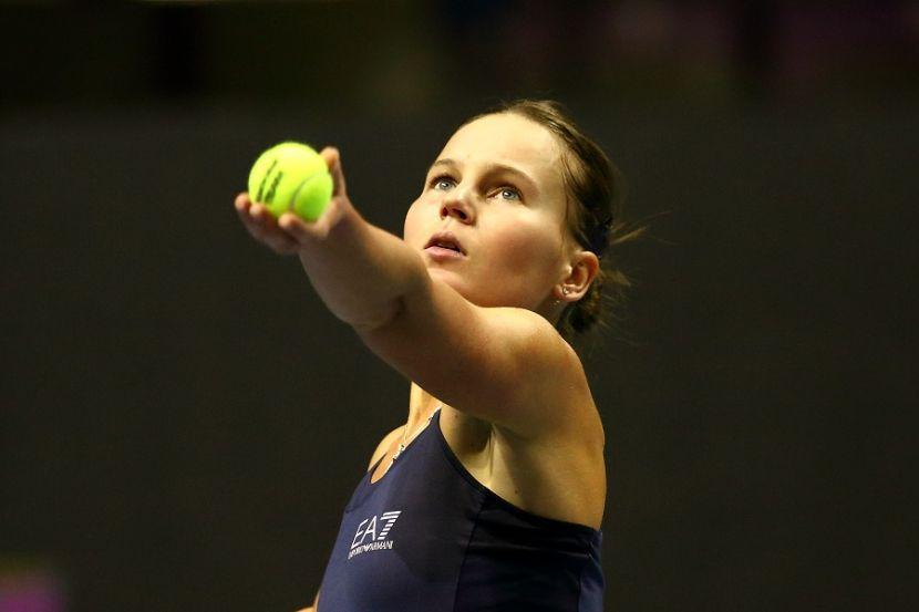 Кудерметова уступила Мертенс на турнире в Нью-Йорке