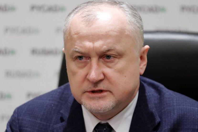 Глава РУСАДА Ганус уволен с должности