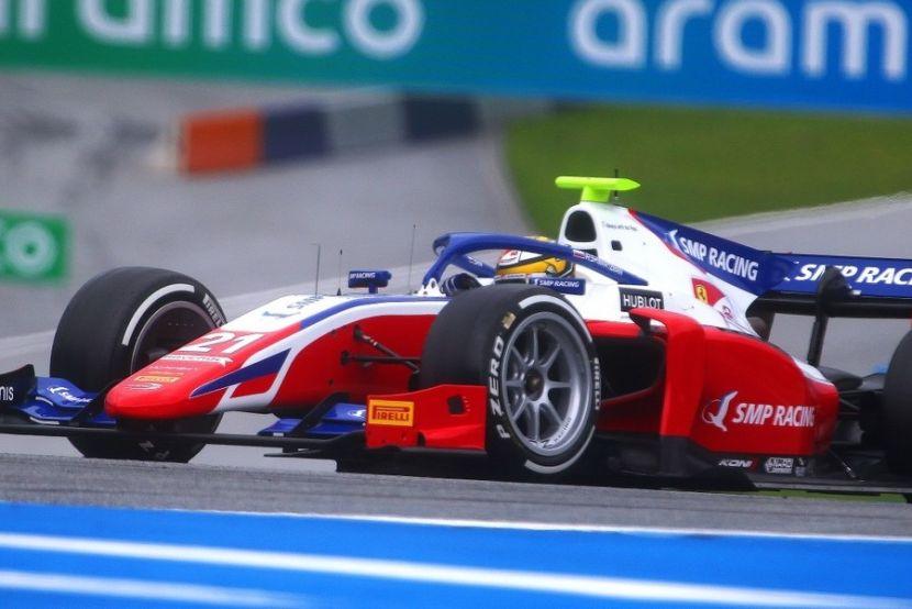 Мазепина лишили победы в пользу Цуноды в первой гонке Формулы-2 на Спа-Франкоршам