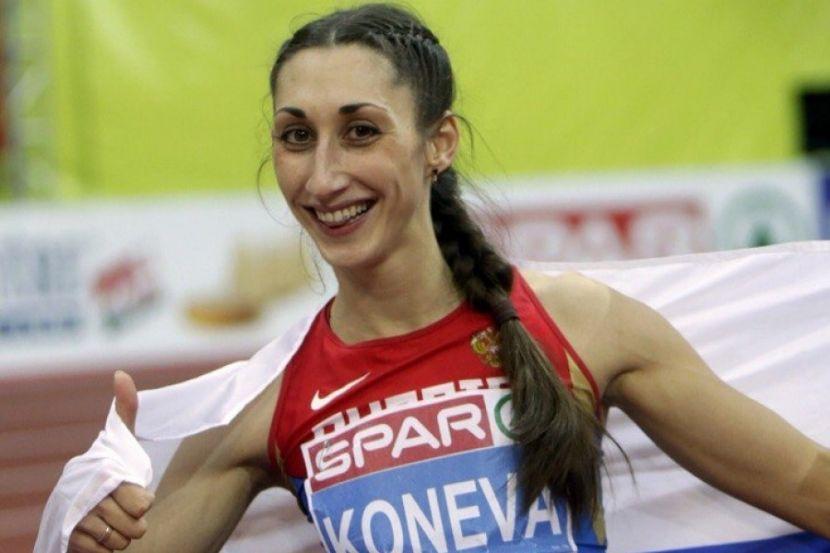 Конева установила лучший результат сезона в мире в тройном прыжке