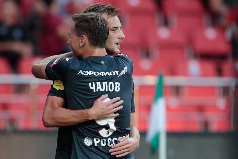 Ахмат - ЦСКА: Видеообзор уверенной победы москвичей в Грозном