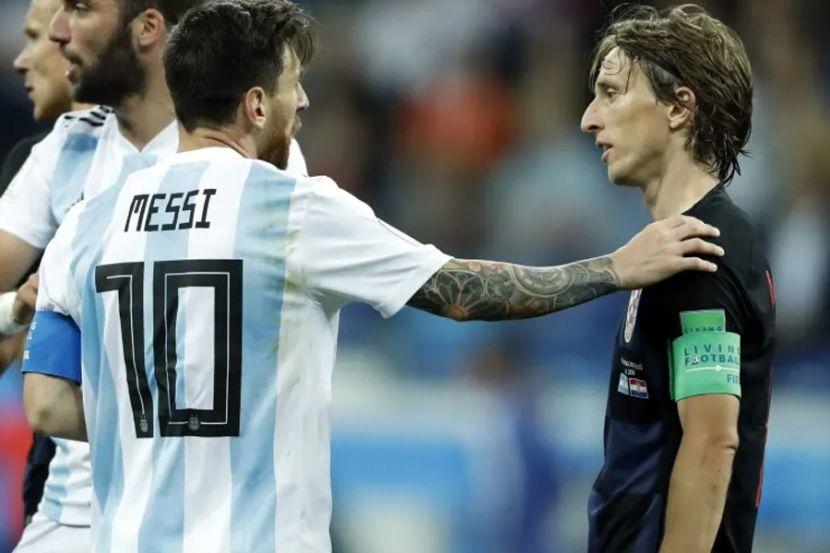 """Модрич — об уходе Месси из """"Барселоны"""": """"Для Ла Лиги это будет огромная потеря"""""""