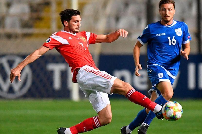 Россия — Сербия: стартовые составы команд на матч Лиги наций