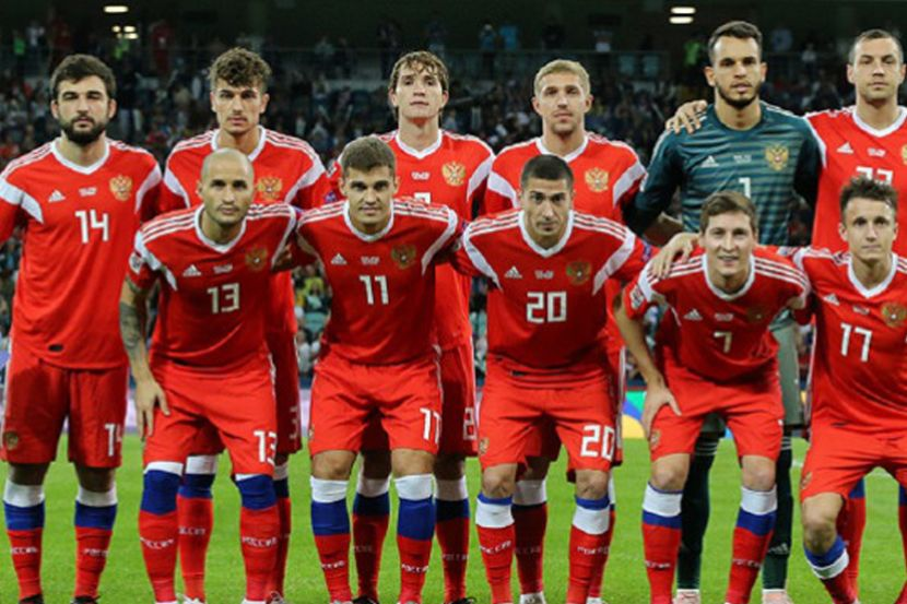 Сборная России поднялась на 6 строчек в новом рейтинге ФИФА