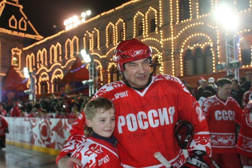 Владислав Третья с внуком
