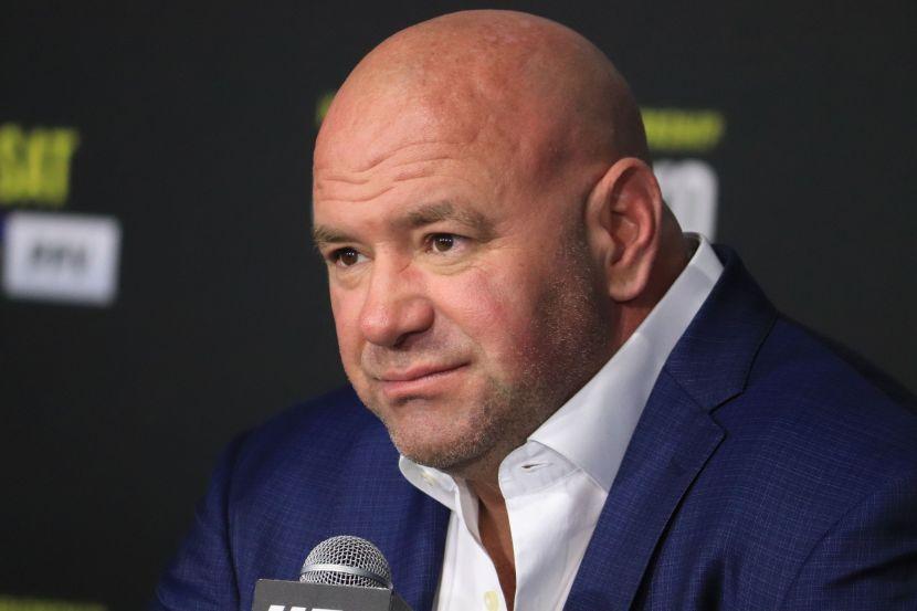 Президент UFC Дана Уайт