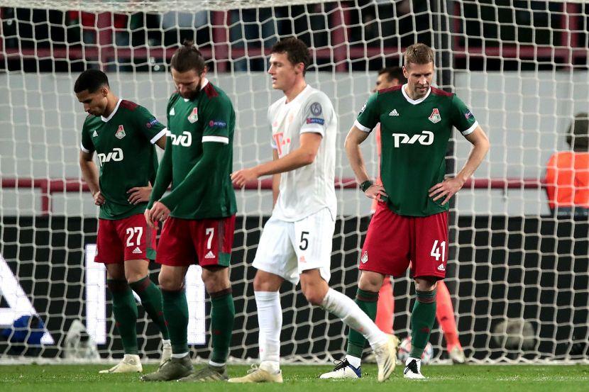 """""""Локомотив"""" - """"Бавария"""""""