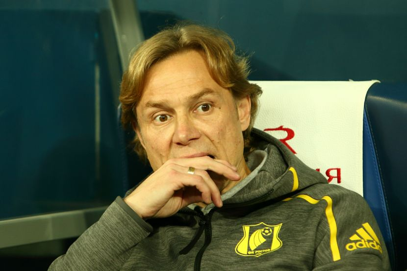 """Тренер """"Ростова"""" Валерий Карпин"""