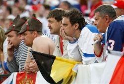Болельщики и футболисты Сборной России недовольны друг другом