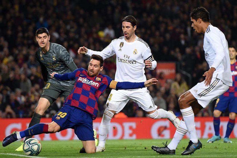 """В """"Реале"""" отреагировали на возможный уход Месси из """"Барселоны"""""""